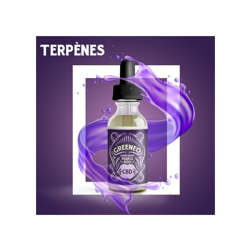 Grand daddy purple e-liquide CBD GREENEO