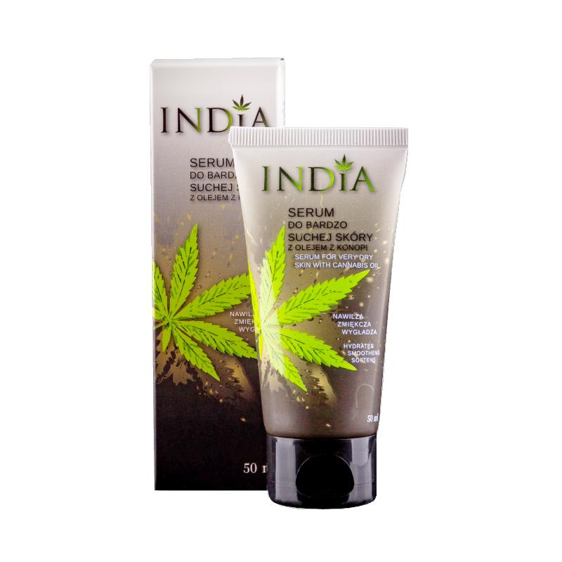 Serum peau sèche visage et mains India