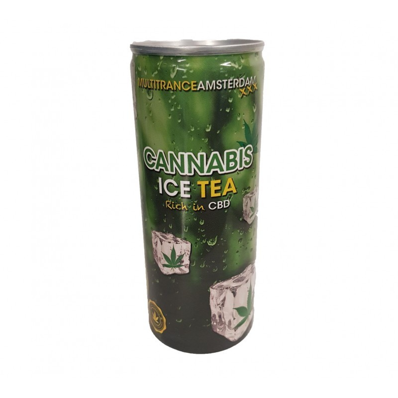 Ice tea aromatisé cannabis multitrance